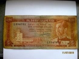 Ethiopie: 5$ ET 1966 - Ethiopie