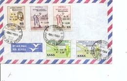 Pérou - Agriculture ( FDC De 1969 à Voir) - Peru
