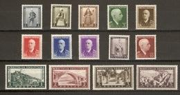 Albanie 1939/40 - Série Complète MNH - YT 257 à 270 - Albanie