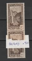 Reunion  - RARE - Variété Sur Raccord N°126  Neuf ** - 4 Scan - Réunion (1852-1975)