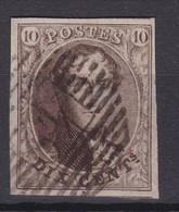 N° 10 Margé 42 FONTAINE L EVEQUE  COBA +6.00 - 1858-1862 Médaillons (9/12)