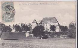 CPA ENV YENNE TREIZE 73 CHATEAU DE BERIN - Yenne
