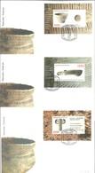 FDC  BELARUS 2003 - Arqueología