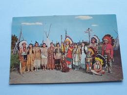 CAUGHNAWAGA ( KA-NA-WA-KE ) INDIAN RESERVE ( Souvenir Agencies ) Anno 19?? (zie Foto Details ) ! - Cartes Modernes