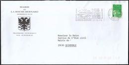 France La Roche - Bernard 1999 / Mairie De La Roche - Bernard / Coat Of Arms / Bridge / Tourism / Machine Stamp - Marcophilie (Lettres)