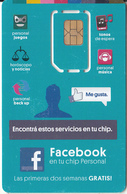 ARGENTINA - Facebook, Personal GSM, Chip 3, Mint - Argentina