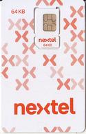 ARGENTINA - Nextel GSM, Chip 6, Mint - Argentina