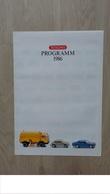 Top Erhaltenes WIKING - Programm-Prospekt Von 1986 - Littérature & DVD