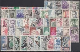 FRANCIA 1960 Nº 1230/1280 AÑO COMPLETO USADO - Francia