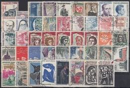 FRANCIA 1961 Nº 1281/1324 AÑO COMPLETO USADO - France