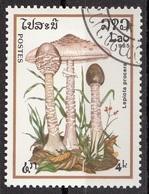 Laos 1985 Sc. 632 Mushrooms Funghi Champignons : Paxillus Lnvolutus Micologia Lao CTO - Funghi