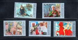 Tretyakov Gallery Art MNH 1978 Complete Set Of 5 Russia Sc 4684-4688 Mi 4757-4761 - Museums
