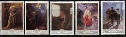 Ukrainian Art MNH 1979 Complete SET Of 5 Russia Sc 4786-4790 Mi 4893-4897 - Museums