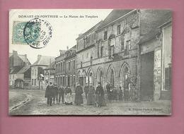 CPA - Domart En Ponthieu  - La Maison Des Templiers - France
