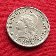 Argentina 5 Centavos 1920 KM# 34   Argentine - Argentine