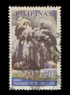 Philippines Scott #C 95, 70¢ Multicolored (1968) Eruption Of Taal Volcano, Used - Philippines