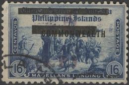 Philippines Scott #N- 3, 16¢ Dark Blue (1942) Occupation Stamp, Used - Philippines