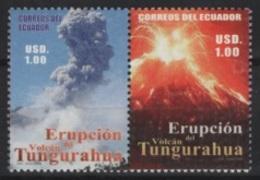 Ecuador (2006) Yv. 1975/76  /  Vulcan - Volcano - Geology - Volcan - Volcans