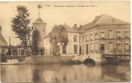 Lier NA23: Zimmertoren Achterkant En Museum Van Folklore 1932 - Lier