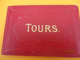 Vues De  Monuments De Ville/TOURS/14 Vues /En Accordéon/ Neurdein / Pinkau LEIPZIG/Vers 1880-1890         PGC237 - Cartes Routières
