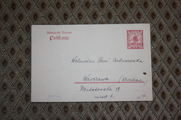 Ganzsache P 80 / 02  Addressiert -  Siehe Beschreibung ( 506 ) - Bayern (Baviera)