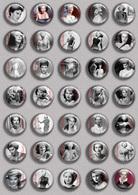 Ava Gardner Movie Film Fan ART BADGE BUTTON PIN SET (1inch/25mm Diameter) 35 DIFF - Films