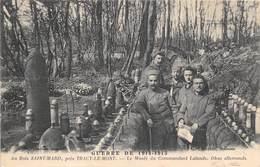 60-SAINT-MARD- AU BOIS, PRES TRACY-LE-MONT- LE MUSSE DU COMMANDANT LALANDE - OBUS ALLEMANDS GUERRE DE 1914/ 15 - Guerre 1914-18