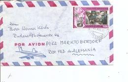 Vénézuéla ( Lettre Par Avion De 1975 De Carabobo Vers La RFA à Voir) - Venezuela