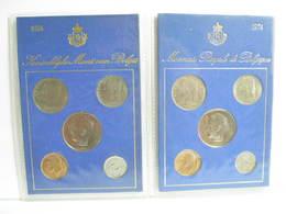 MONNAIE DE BELGIQUE SERIE FDC  1974 FRANCS - 1951-1993: Baudouin I