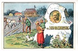 Nr.+  836 ,  Feldpost, Von Hindenburg - War 1914-18