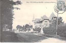 94 - VILLIERS SUR MARNE :  La Route De Mainoue - CPA - Val De Marne - Villiers Sur Marne