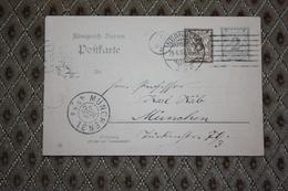 Ganzsache P 74 / 04  Gelaufen -  Siehe Beschreibung ( 518 ) - Bayern (Baviera)
