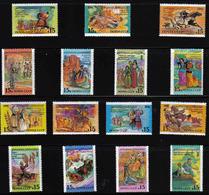 15 X Republics CCCP MNH 1991 Complete Set Of 15 Sc 6031-6045 Mi 6229-6243 Russia - Costumes