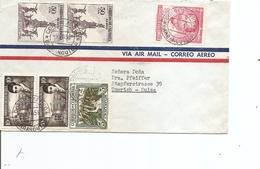 Colombie ( Lettre Par Avion  De 1958 De Barranquila Vers La Suisse à Voir) - Colombia
