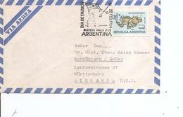 Argentine - Malouines ( Lettre Par Avion En Premier Jour De 1964 De BuenosAires Vers L'Allemagne à Voir) - Storia Postale
