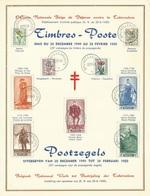 België    Herdenkingskaart    814 - 822 - Herdenkingskaarten