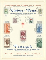 België    Herdenkingskaart    814 - 822 - Cartes Souvenir