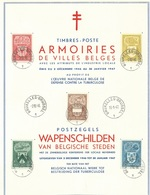 België    Herdenkingskaart    743 - 747 - Herdenkingskaarten