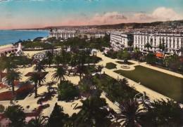 France Nice Dans le Jardins Fleuris le Theatre de Flore 1949