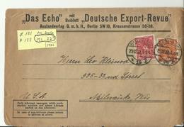 DR CV 1922 BERLIN NACH USA - Briefe U. Dokumente