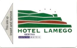Lamego Hotel Keycard - Portugal - Hotelkarten