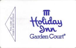 Holiday Inn Garden Court Hotel Keycard - Cartes D'hotel