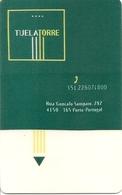 Tuela Torre Hotel Keycard - Porto - Portugal - Hotelkarten