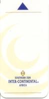 Southern Sun Inter-Continental Hotel Keycard - Africa - Hotelkarten