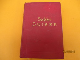 Manuel Du Voyageur/La SUISSE Et Les Parties Limitrophes De La SAVOIE Et De L'ITALIE/BAEDEKER/Leipzig/1898         PGC239 - Cartes