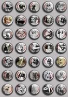 Blondell Joan Movie Film Fan ART BADGE BUTTON PIN SET (1inch/25mm Diameter) 35 DIFF - Films