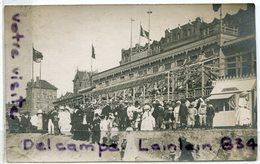 - Carte Photo -  Lieu à Déterminer, Cachet Loiret, Probablement Congrès De 1909, Syndicat Militaire ?, TBE ,scans. - France