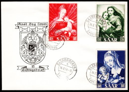 SAR SC #250-2  1954 Madonna And Child FDC 08-14-1954 - FDC