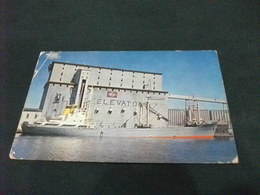 NAVE SHIP  GRAIN ELEVATOR SUPERIOR WINSCONSIN  U.S.A. PIEGA - Commercio
