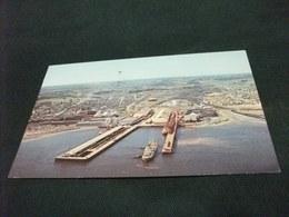NAVE SHIP  PORT ALFRED QUEBEC CANADA LES QUAIS DE LA SAGUENAY TERMINALS - Commercio